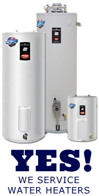 Yes! we service water heaters in Walnut Creek CA
